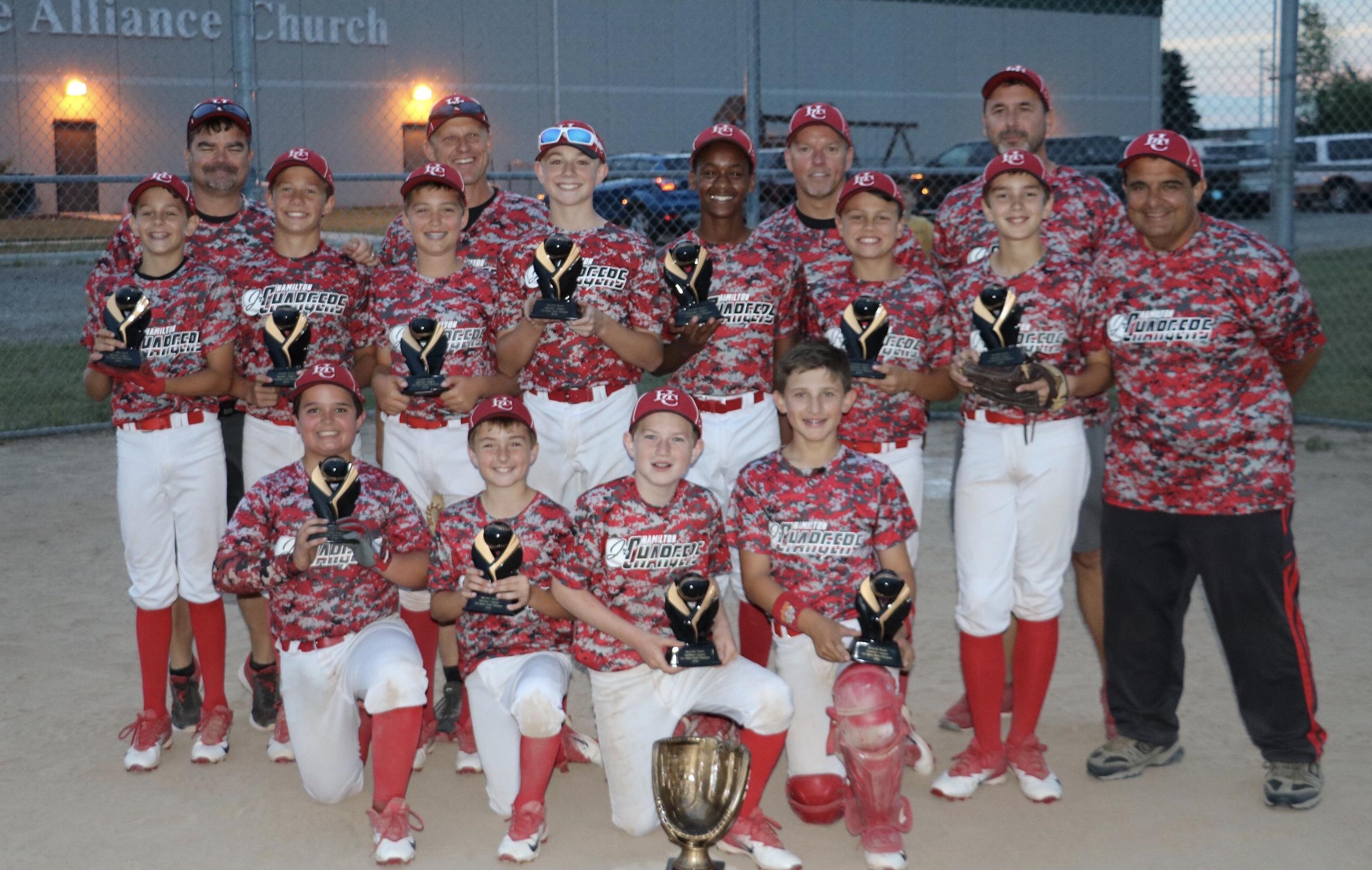 U12 White Champions of MAJOR YBL Select North League