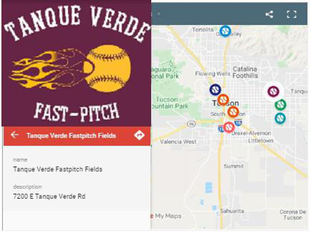 Get Directions to Tanque Verde Udall Park