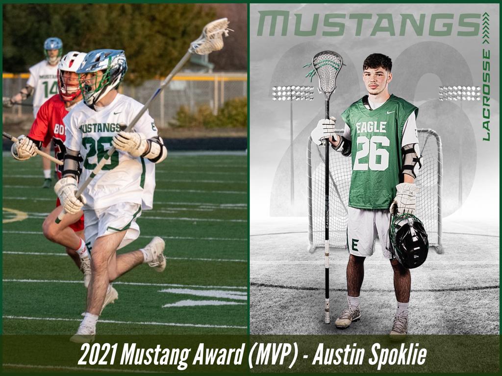 2021 Mustang Award (MVP) - Austin Spoklie