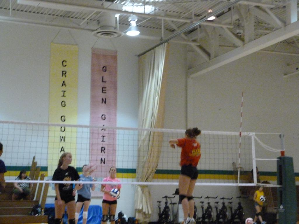Volleyball Positional Camp