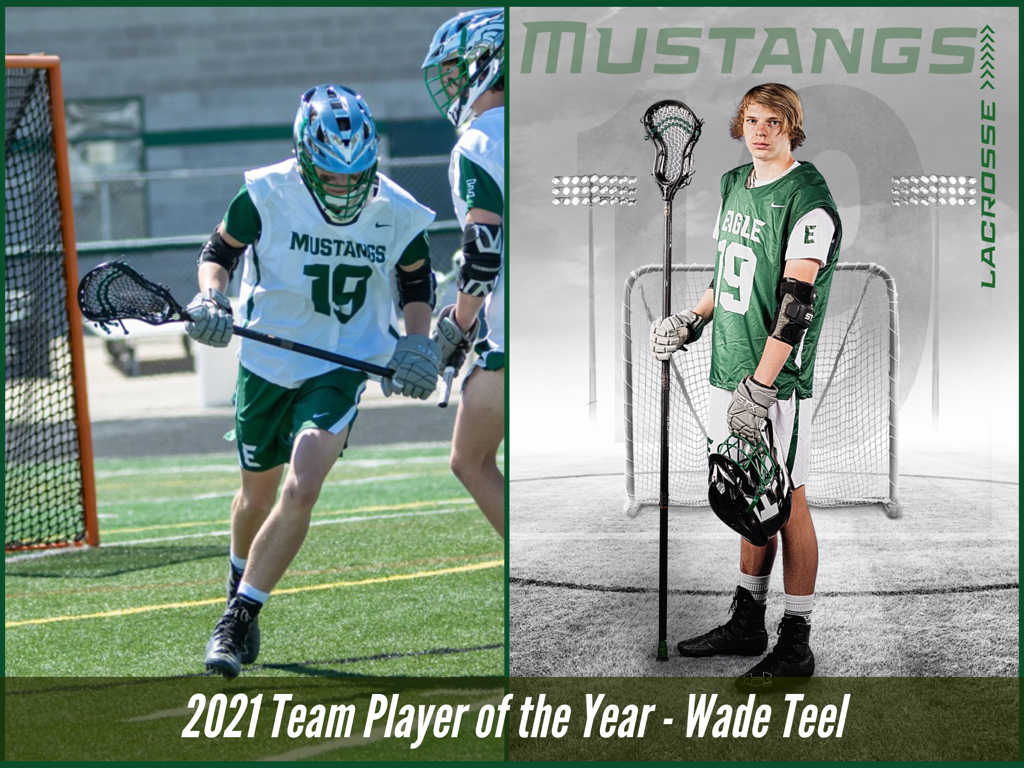 2021 Team Player of the Year - Wade Teel