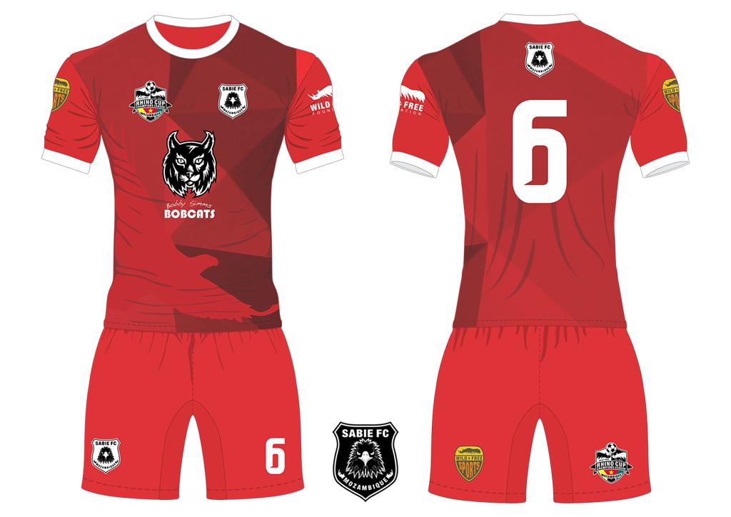 Sabie FC Eagles Soccer Team Kit RCCL 2019