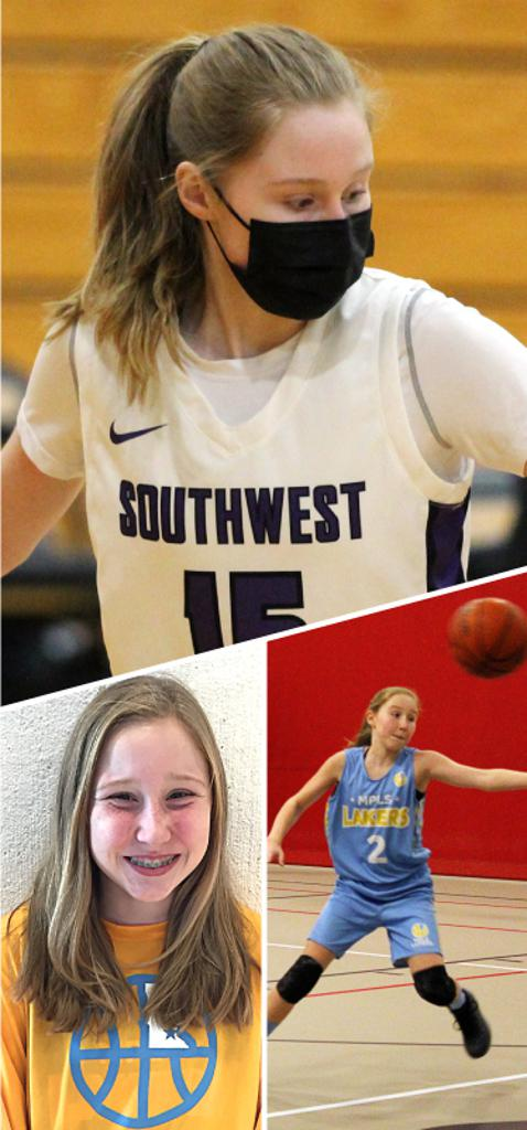 Lilly Bramstad Southwest Lakers Class of 2023  Mpls Lakers 2015-2018