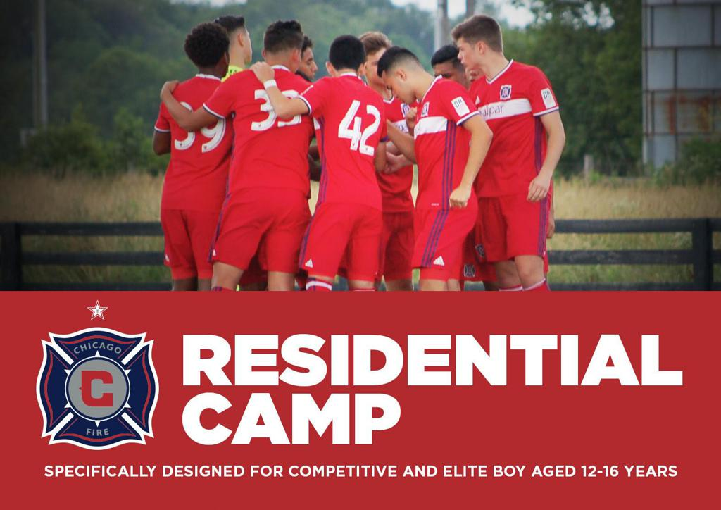 Chicago Fire Summer Soccer Camp For Elite Players