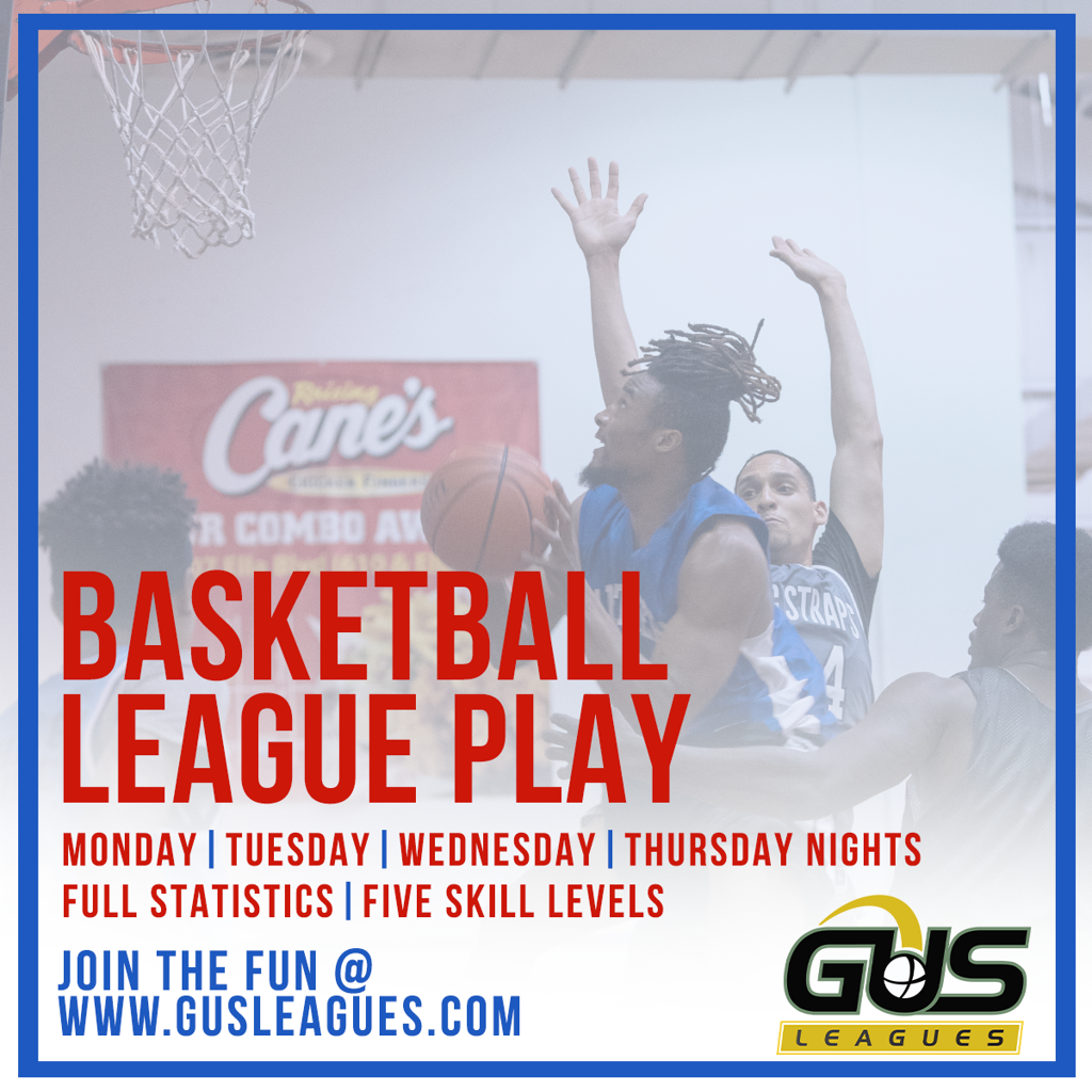 Adult Mens Competitive Basketball League in Houston, Texas in East Downtown, Near Northside, Fifth Ward, and Garden Oaks