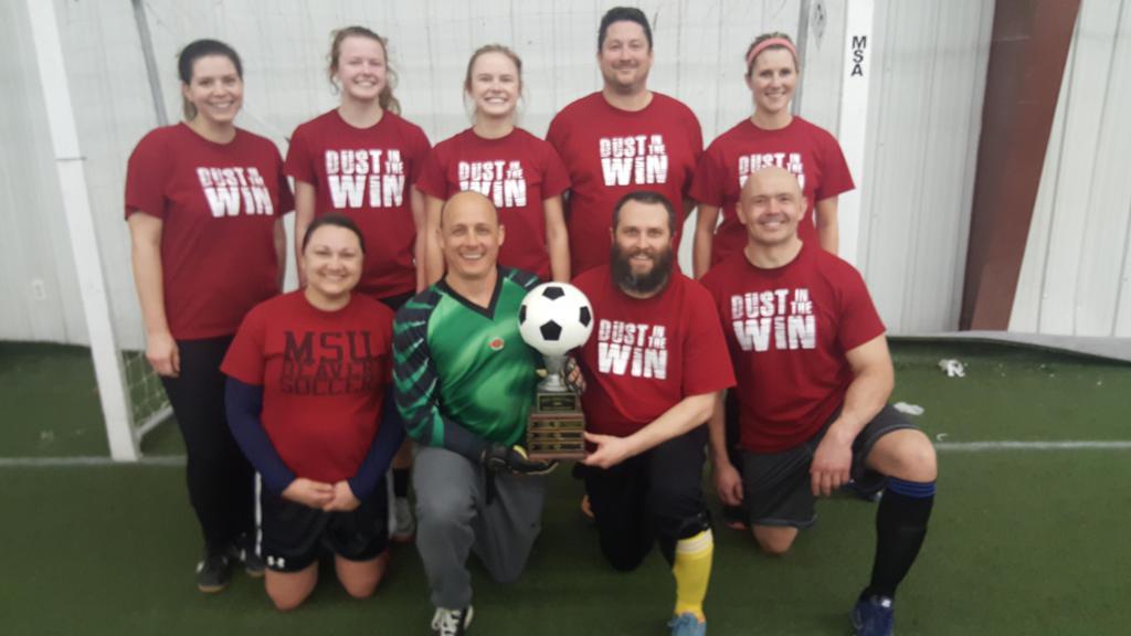 2019 Adult Indoor League Champions Photos Minot Soccer Association