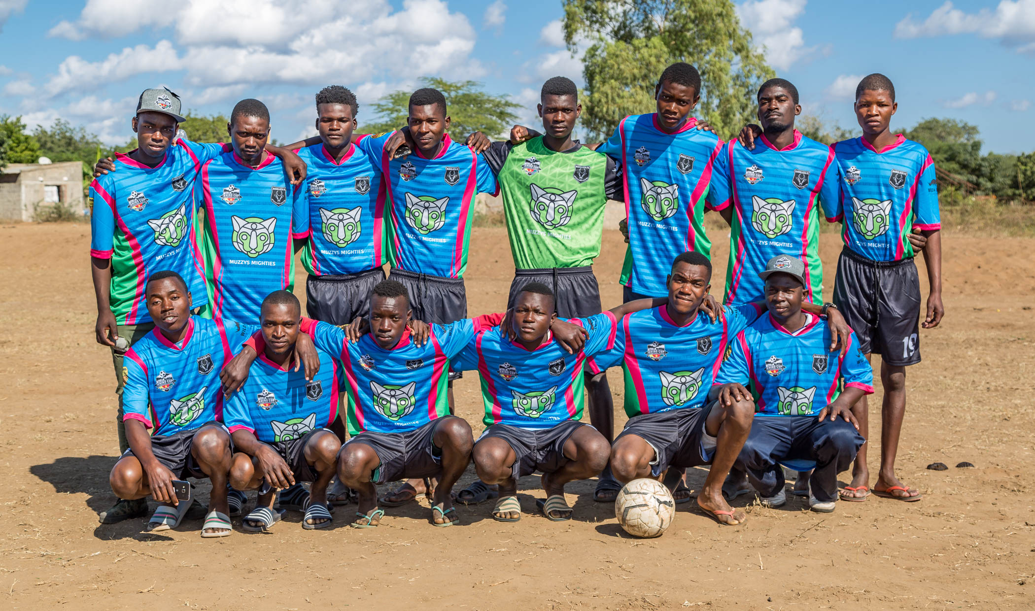Babalaza FC Gazelles Team Photo, Rhino Cup Champions League, May 2019