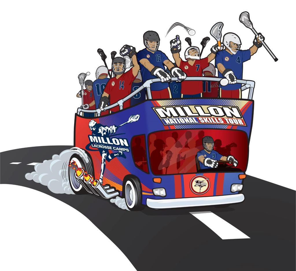 Millon Lacrosse - Player Development Tour - Get on the Bus!
