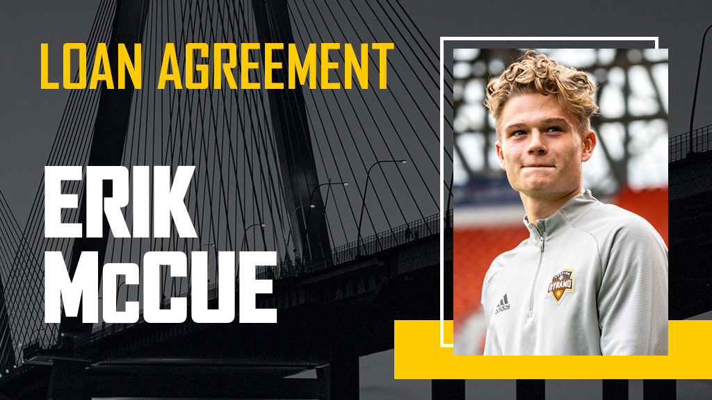 Erik McCue joins Charleston Battery on season-long loan from Houston Dynamo FC