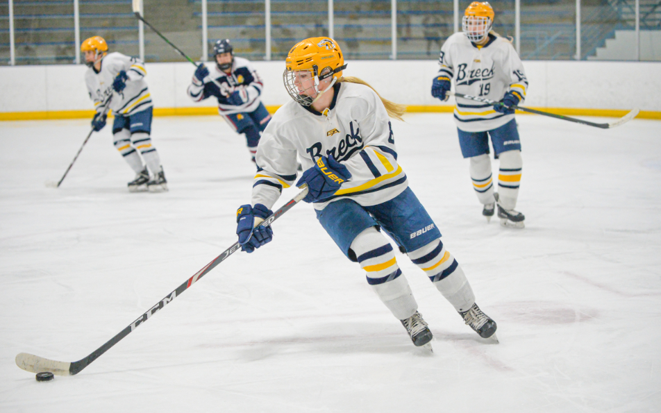 Breck, which is dealing with last week's resignation of coach Steve Persian, faces a Warroad program that has just one loss to date on Friday. Photo by Earl J. Ebensteiner, SportsEngine