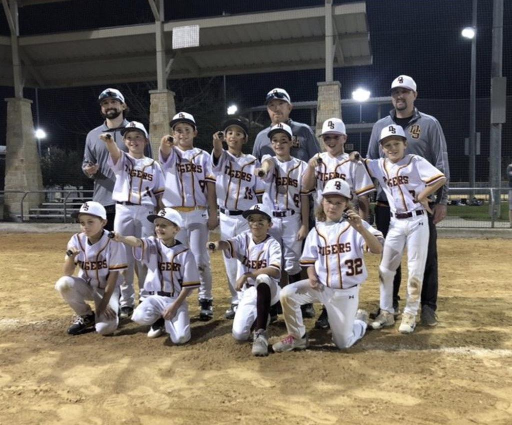 10U Tigers Win Dust the Rust