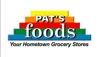 Pats foods logo element view