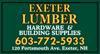Sponsored by Exeter Lumber
