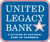Sponsored by United Legacy Bank