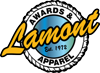 Sponsored by Lamont Awards & Apparel