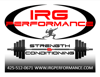 Sponsored by IRG Performance