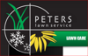 Sponsored by Peters Lawn Service