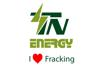 Final logo with fracking element view