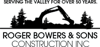 Sponsored by Roger Bowers & Sons Construction