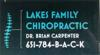 Sponsored by Lakes Family Chiropractic - Dr. Brian Carpenter