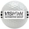 Vision golf ball element view
