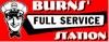 Burns full service website logo element view