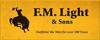 Sponsored by F M Light & Sons
