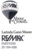 Sponsored by REMAX - Larinda Gann Moore