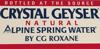 Sponsored by Crystal Geyser Natual Spring Water