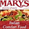 Sponsored by Mary's Pizza Shack