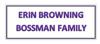 Erin browning bossman family element view