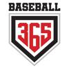 Baseball365 logo red black element view