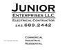 Junior logo element view