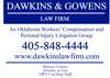 Sponsored by DAWKINS & GOWENS LAW FIRM
