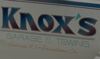 Sponsored by Knox's Garage & Towing Inc.