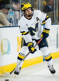 Blankenberg Selected as U of M Alternate Captain