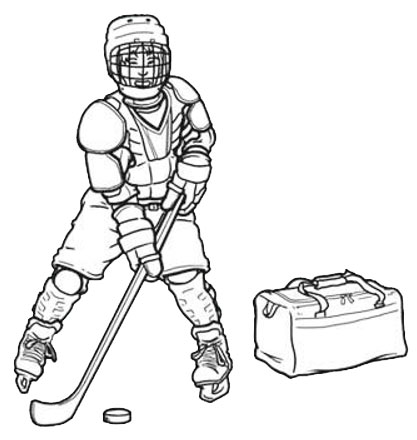 the importance of wearing protective gear and checking for injuries in ice hockey Common ice hockey injuries it's essential to wear appropriate ice hockey safety equipment including helmets, pads and protective gear.