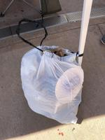 Keep trash bags handy for easy clean up at camp sites.