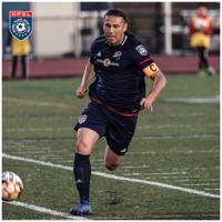 San Ramon FC's NPSL soccer player, Octavio Guzman