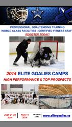 Professional Services for Top Level Goaltenders!