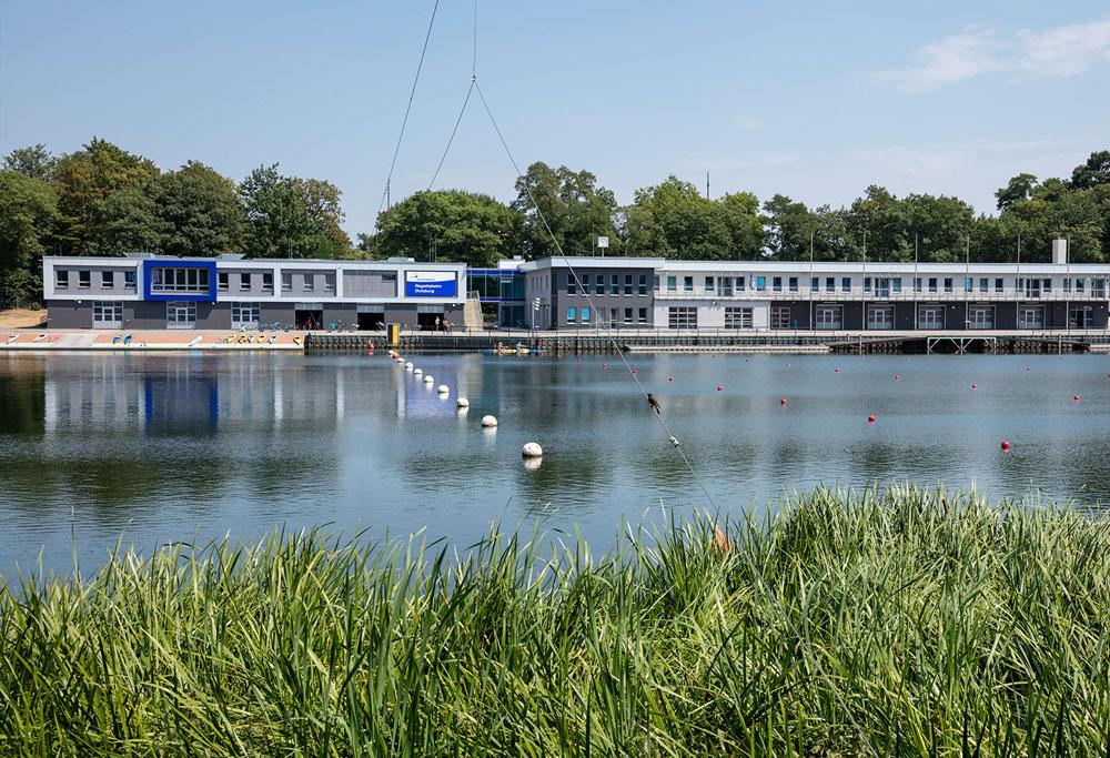 IRONMAN 70.3 Duisburg Swim