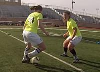 Dr. Deutsch says it's better to develop agility through natural soccer movements