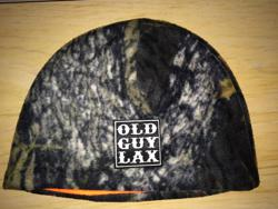 Old Guy Lacrosse Camo Beanie