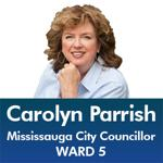 Carolyn Parrish - Mississauga City Council - Ward 5 - Mississauga News and Mississauga Gazette - Mayor Bonnie Crombie