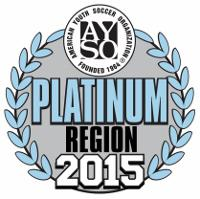 Region 418 was awarded Platinum status by AYSO National