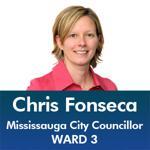Chris Fonseca - Mississauga City Council - Ward 3 - Mississauga News and Mississauga Gazette - Mayor Bonnie Crombie