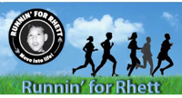 Runnin for Rhett logo