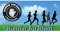 Runnin for Rhett logo