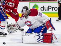 Charlie  Lindgren debuted with the Montreal Canadiens in 2016