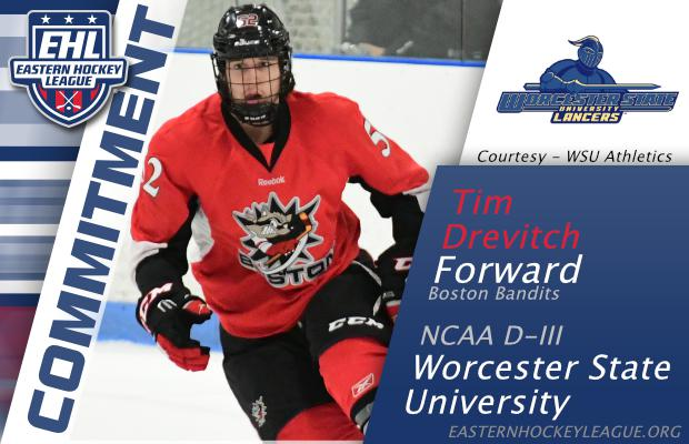 Tim Drevitch Commits To NCAA Worcester State!